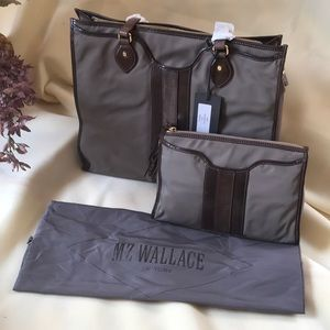 MZ Wallace Set (tote and clutch)